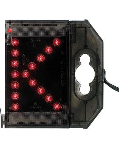 Lettre lumineuse à LED - ''K'' rouge