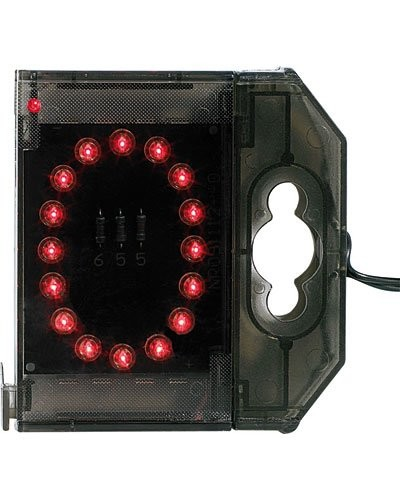 Lettre lumineuse à LED - ''O'' rouge