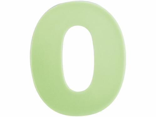 Numéro de maison phosphorescent - ''0''
