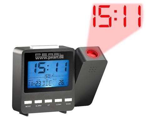 Réveil à projection multifonction radio-piloté DAC-662.beam