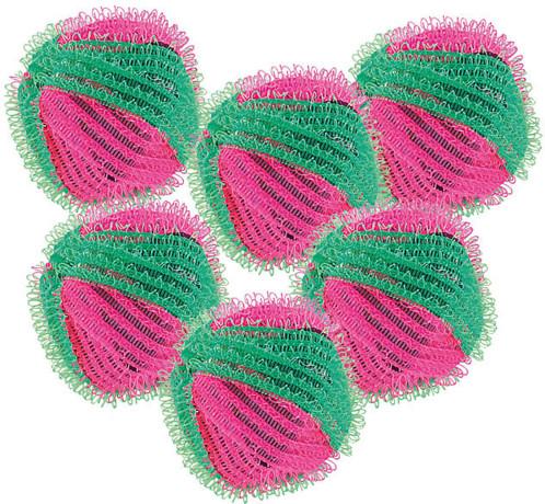 6 Balles de lavage contre peluches et bouloches