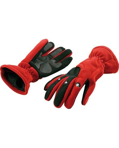 Gants polaires 3 LED taille M (rouge)