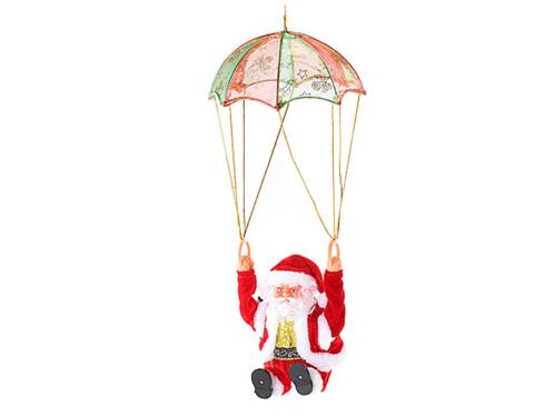 Père Noël en parachute ''Santa Sky''