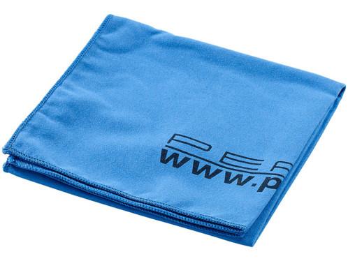 Serviette de Bain Microfibre 80 X 40 Cm - bleu
