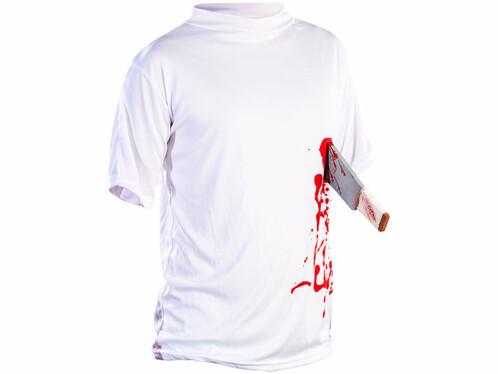 T-Shirt ''Machette dans le ventre'' - taille L