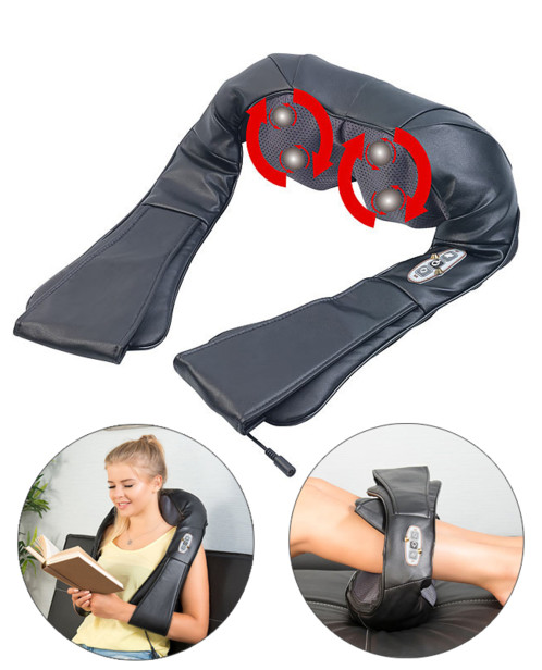 Appareil de massage shiatsu à chaleur infrarouge MA-200