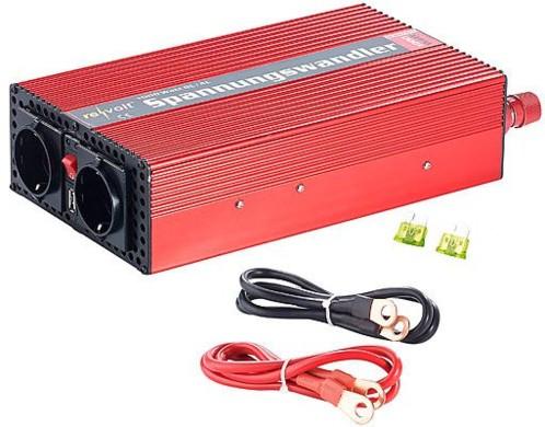 Convertisseur 12 V / 230 V - 1000 W