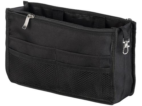 Organisateur de sac à main 26 x 16 x 8 cm, 13 compartiments avec protection RFID