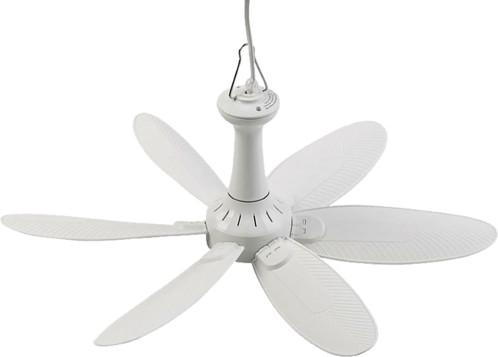Ventilateur de plafond mobile 6 pales à suspendre VT-242.m avec minuteur - 43 cm