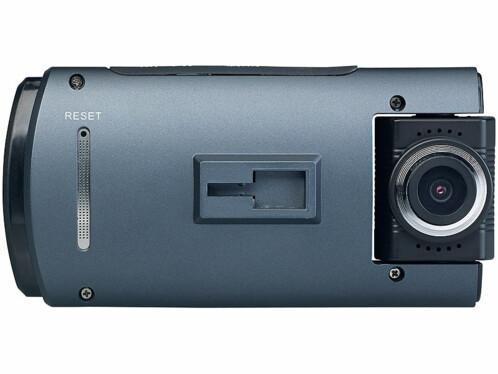 Camera de bord dashcam full hd grand angle avec capteur sony avec 2e camera intérieure mdv-1915 navgear