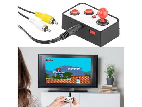 Console de jeux rétro 16 bits avec 240 jeux et connexion TV