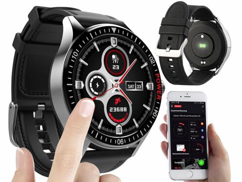 Montre-fitness connectée modèle SW-430.hr avec cardiofréquencemètre.