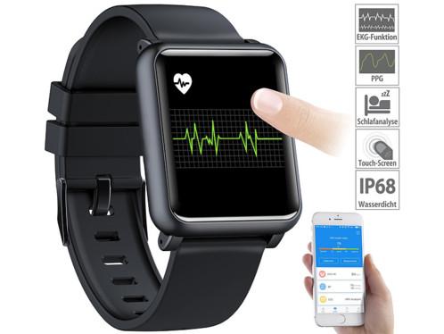 Montre fitness étanche avec mesure de la fréquence cardiaque et de la tension