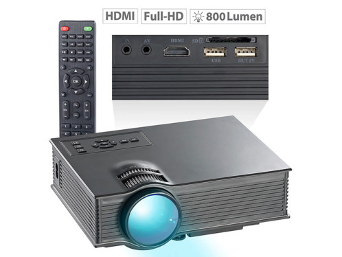 video projecteur 800 lm avec wifi miracast airplay scenelights lb-8300