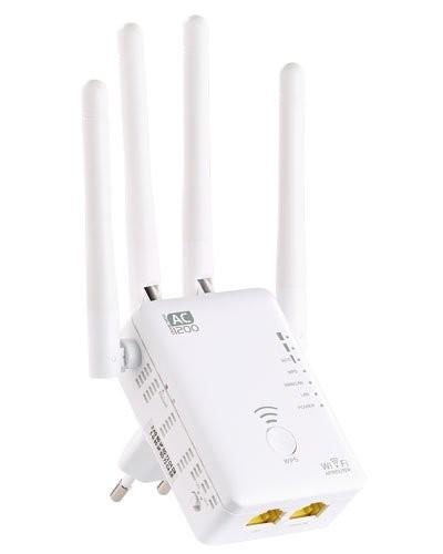 Répéteur wifi Dual Band 1200 Mbps ''WLR-1221.ac''