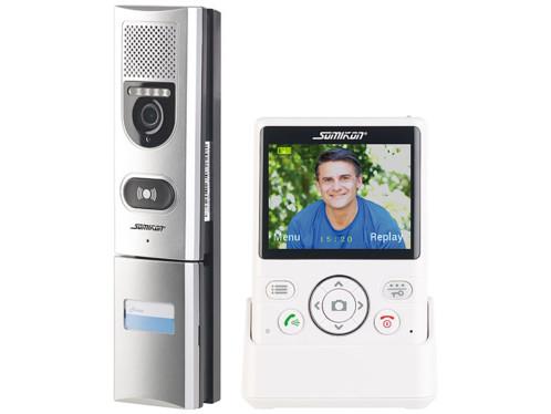 Visiophone sans fil 50m avec vision nocturne et cran for Interrupteur sans fil exterieur