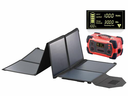 Batterie nomade 216 Ah & Convertisseur solaire 230V HSG-1000