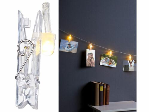 guirlande lumineuse led avec pinces pour suspension photos. Black Bedroom Furniture Sets. Home Design Ideas