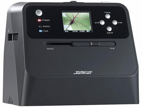 Scanner autonome pour photos, diapositives et négatifs, avec capteur 14 Mpx et écran LCD SD-1600