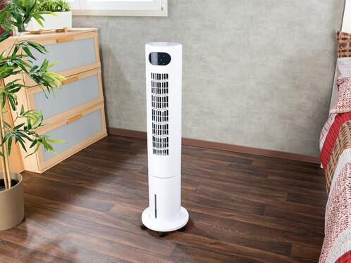 ventilateur colonne rotatif avec fonction humidificateur et rafraichisseur d'air pour chambre VT-420 sichler
