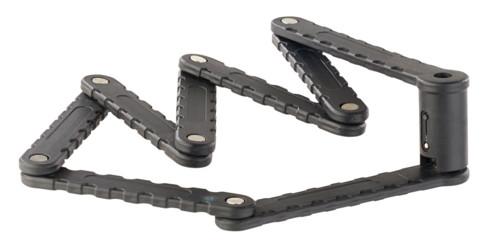 antivol vélo en acier depliable pour cadre avec 3 clés de sécurité