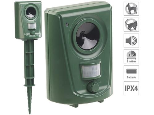 Appareil anti-nuisibles universel à ultrasons et détecteur de mouvement TS-910