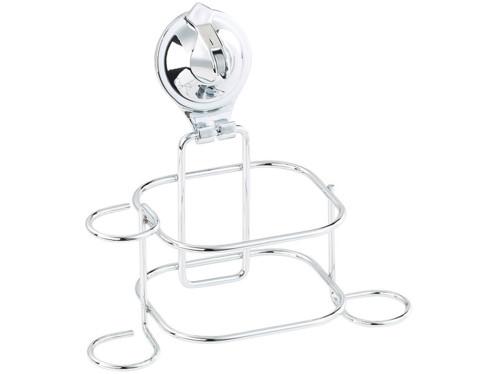 Supports pour accessoires de salle de bain avec ventouse for Support ventouse salle de bain