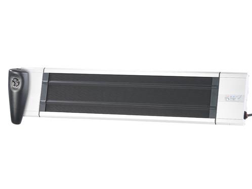 chauffage radiant plaque fixation murale ou plafond intérieur ou exterieur avec telecommande semptec ra 324