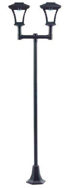 lampadaire solaire de jardin avec piquet mod les 1 ou 2. Black Bedroom Furniture Sets. Home Design Ideas