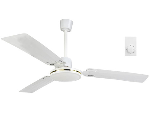 ventilateur de plafond 91 cm VT-240 double sens pour été et hiver avec telecommande murale sichler