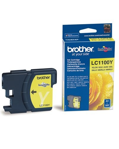 Cartouche originale Brother LC1100Y - Jaune