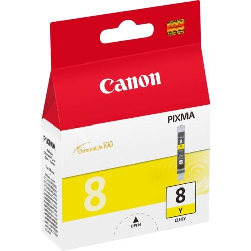 Cartouche originale Canon Cli8Y - Jaune