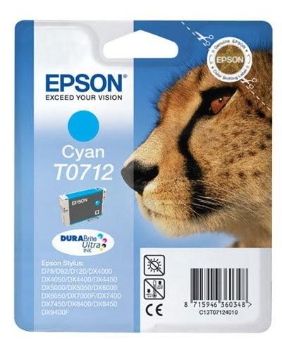 Cartouche originale Epson T071240 - Cyan