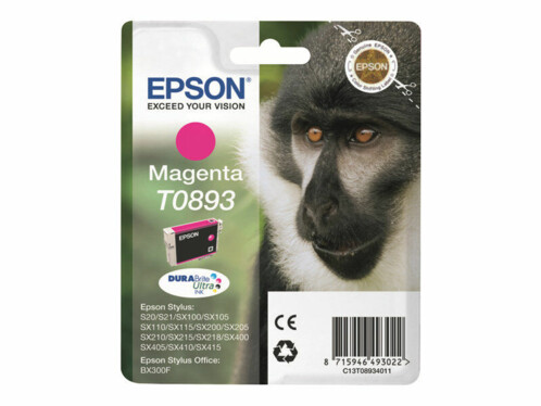 Cartouche originale Epson T089340 - Magenta