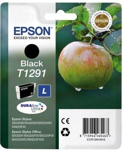 Cartouche originale Epson Pomme Série T129140 - Noir