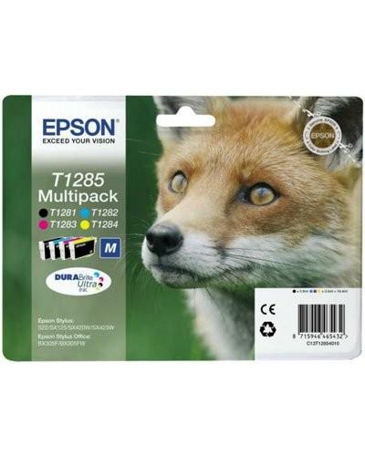Cartouches originales Epson T128540 - Pack couleur + noir