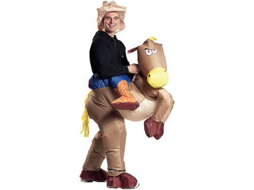 Costume gonfable ''Cow-Boy''