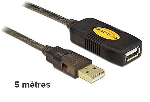 Rallonge active USB 2.0 - 5m