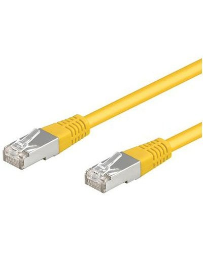 Câble RJ45 jaune cat5e F/UTP - 3m
