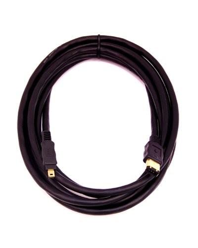 Câble Firewire IEEE 1394 - 6 Pin vers 4 Pin - 3 m