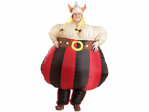 Costume gonflable ''Viking''