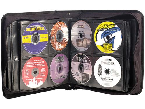 Pochette de rangement pour 240 CD/DVD/BR