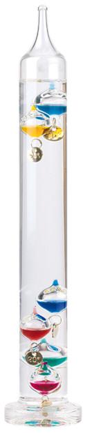 Thermomètre en verre Galileo
