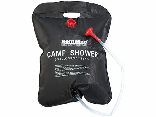 Douche de camping et de jardin solaire - 20 L