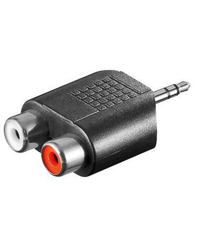 Adaptateur cinch vers jack 3,5 mm stéréo