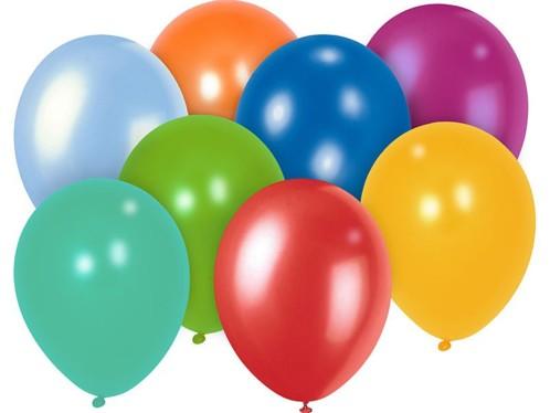 100 Ballons multicolores
