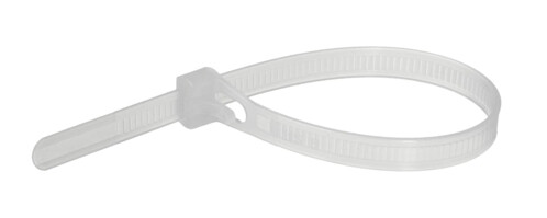 Pack de 100 colliers de serrage 100 X 2,5 mm