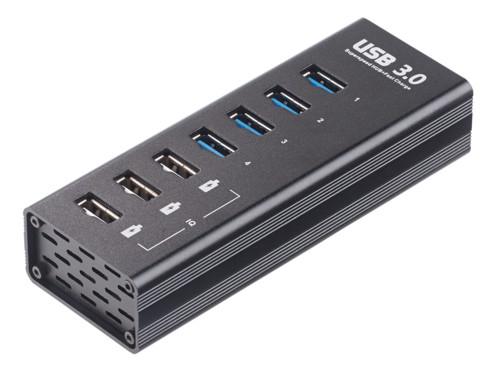 hub usb 3.0 7 ports avec chargement rapide Xystec