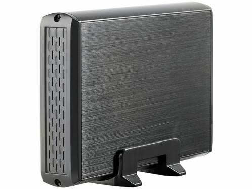 Boîtier USB 3.0 pour disque dur S-ATA 3.5''