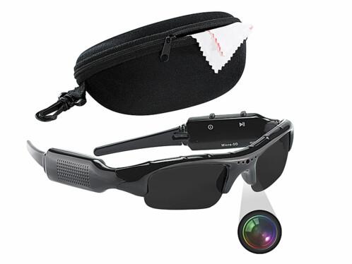 Lunettes de soleil caméra HD ''HDC-700''